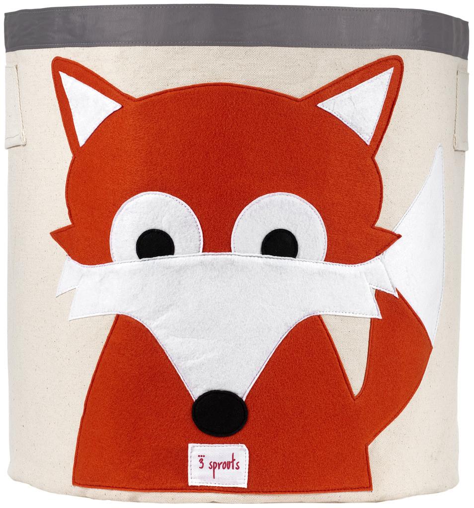 Ящики и корзины для игрушек 3 Sprouts Orange Fox