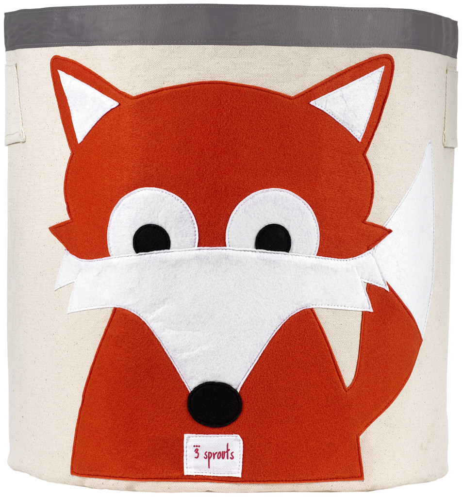 Корзина для хранения 3 Sprouts Orange Fox