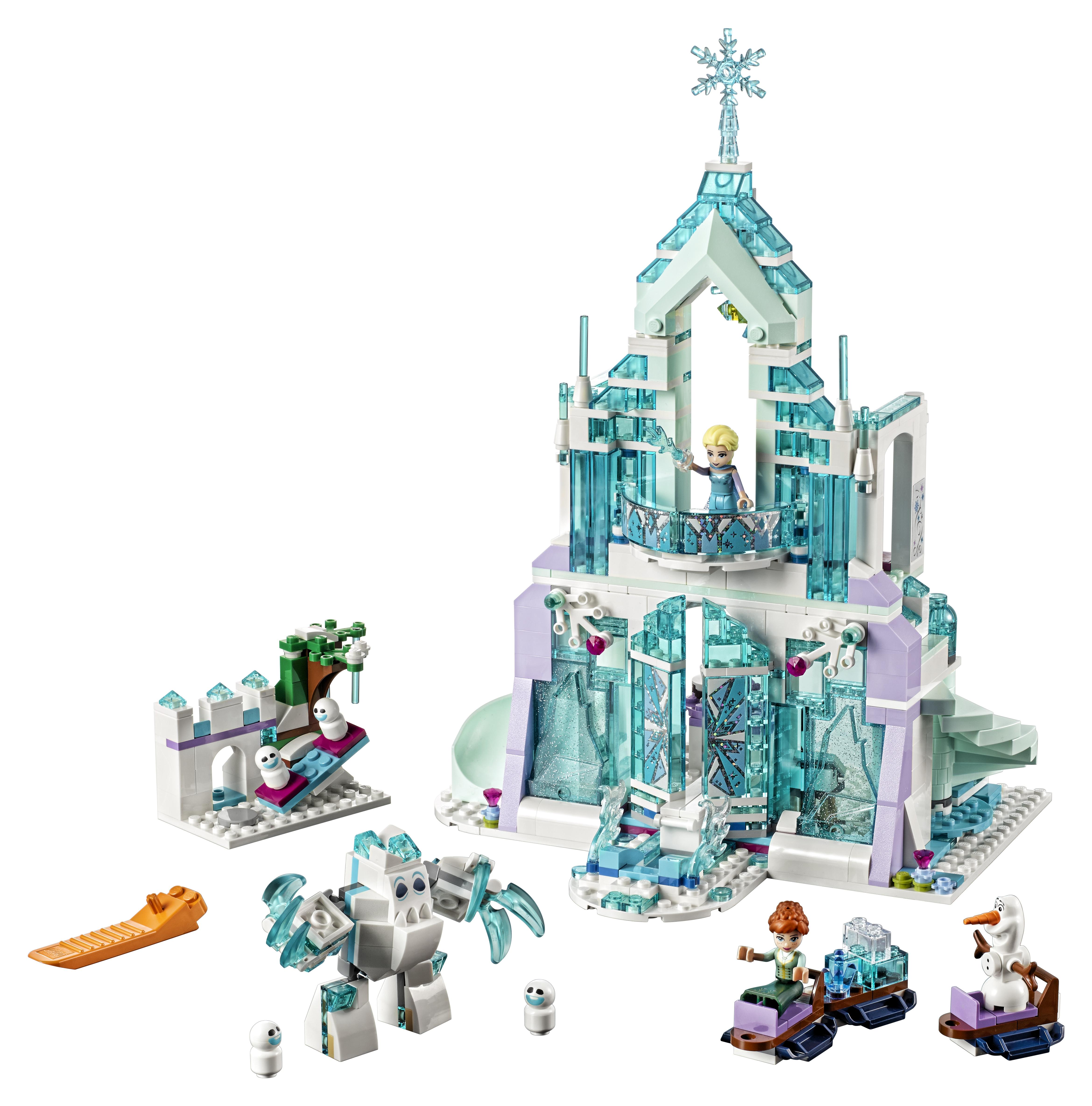 LEGO LEGO Disney Princess 41148 Волшебный ледяной замок Эльзы конструктор lego disney princess 41154 волшебный замок золушки
