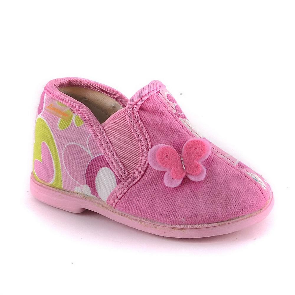 Тапочки Домашки Домашние малодетские розовые тапочки домашки туфли домашние малодетские