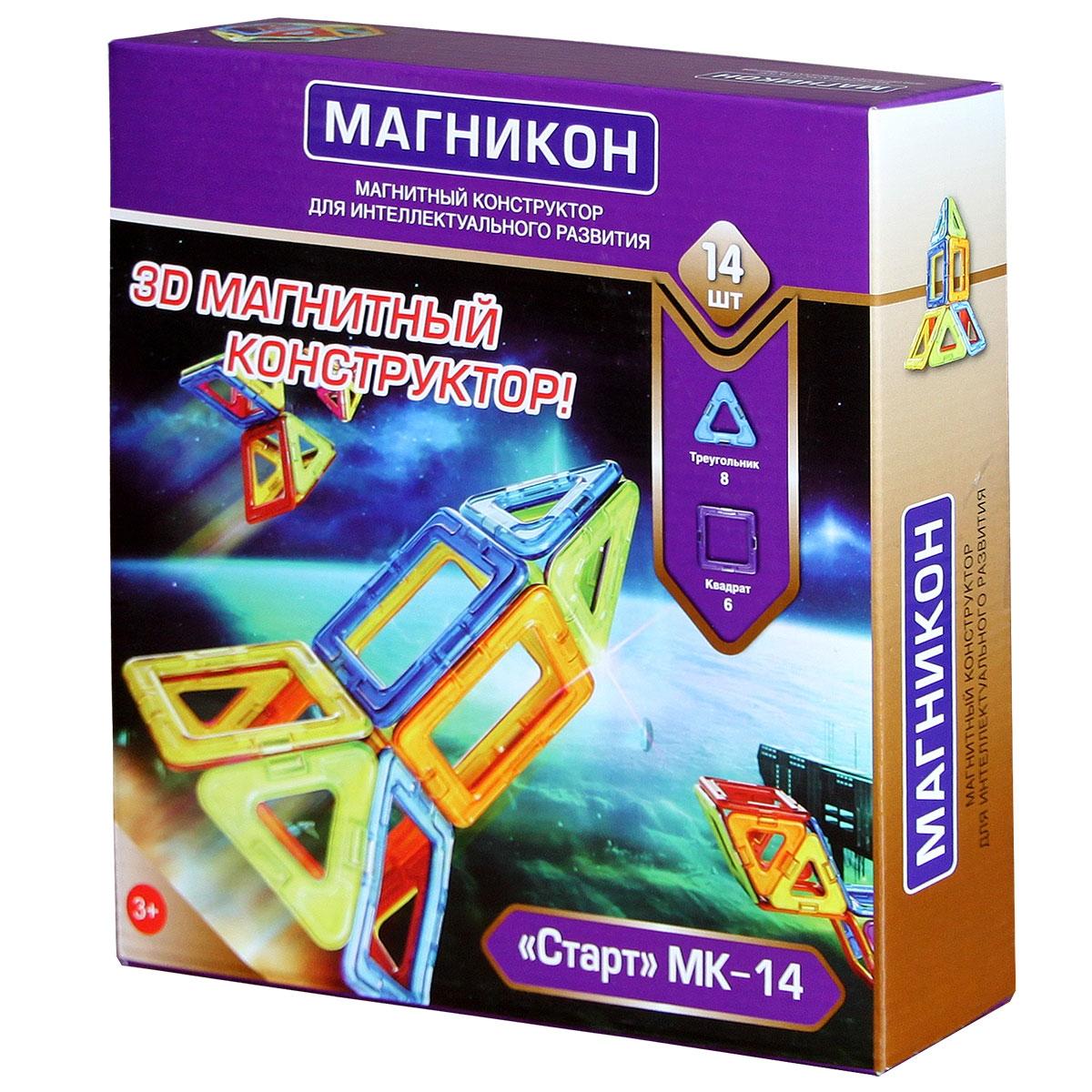 Конструкторы Магникон MK-14 Старт все цены