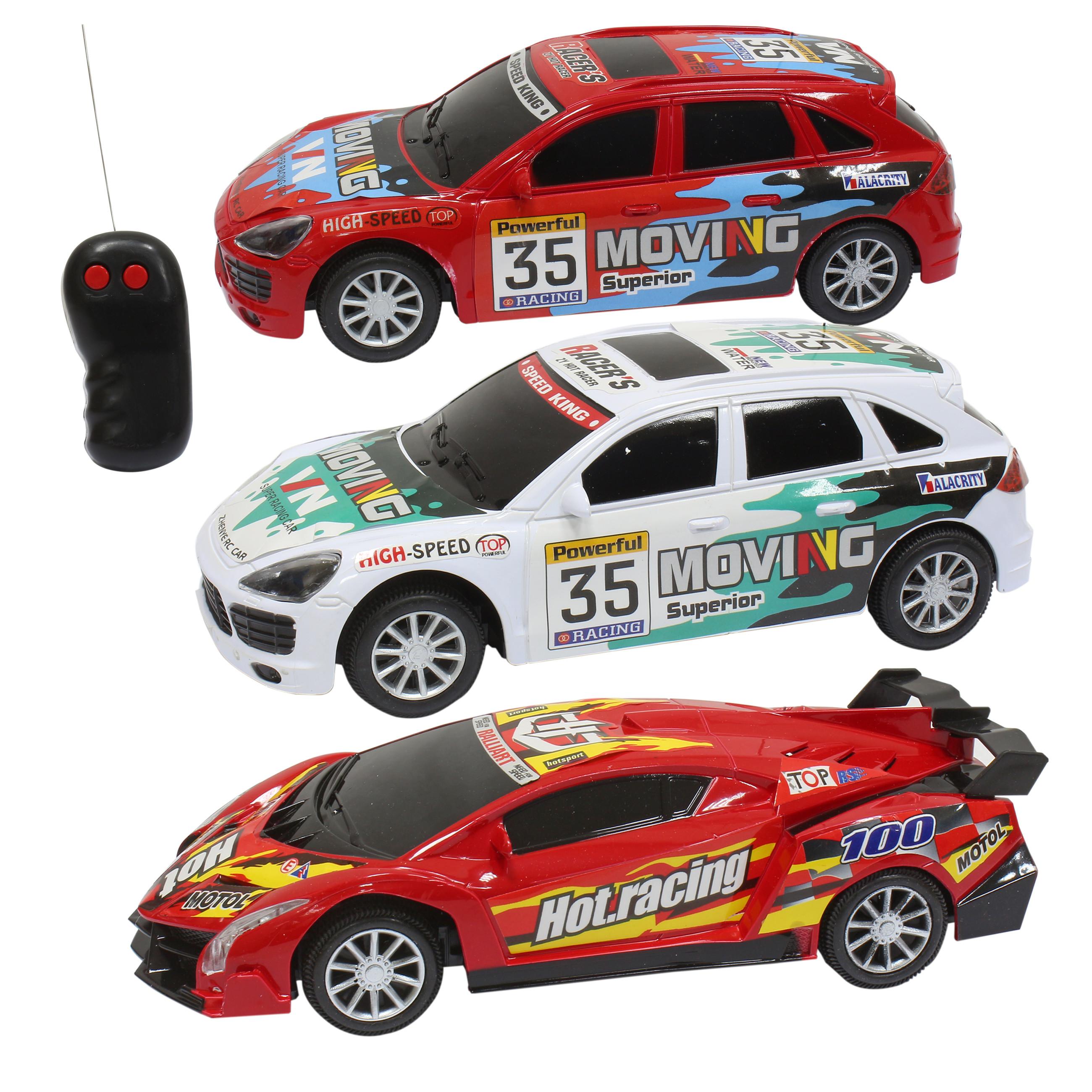 Игрушки на радиоуправлении 1toy Т10014 треки 1toy ночные гонки