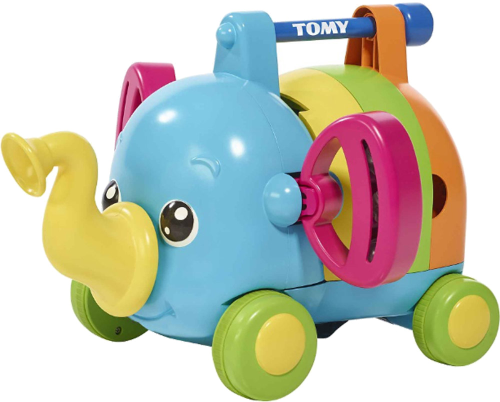 Развивающая игрушка Tomy Слоненок-оркестр жирафики слоненок джим