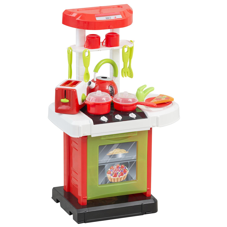 Игровой набор HTI Портативаня электронная кухня Smart с 19 аксессуарами электронная мини кухня smart 1684081
