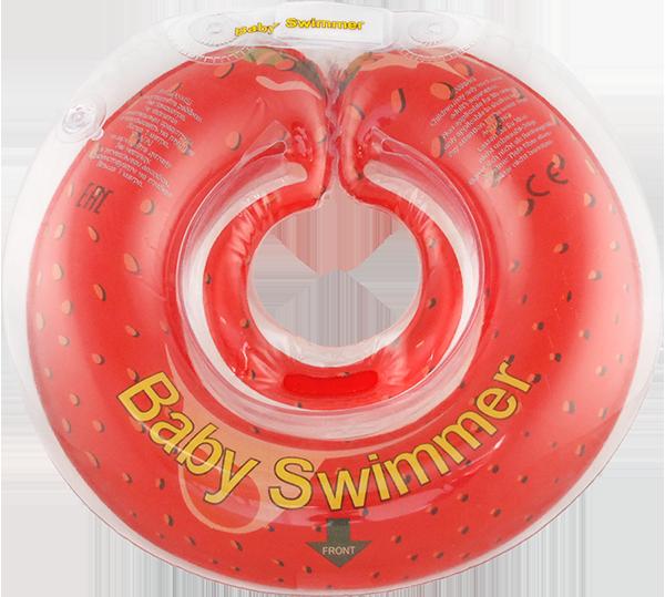 Круг надувной BabySwimmer На шею для купания
