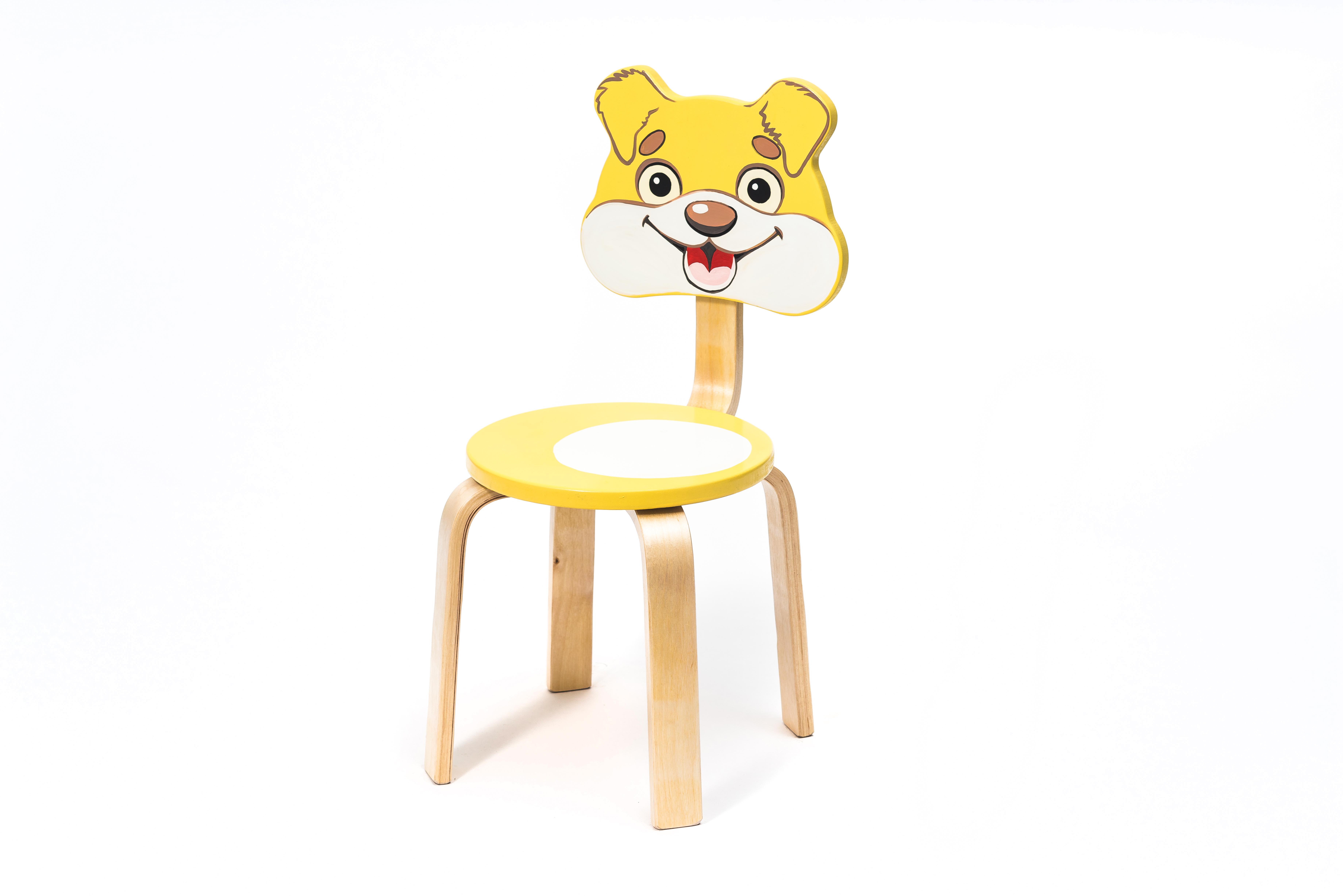 Столы и стулья Polli Tolli Мордочка. Собачка