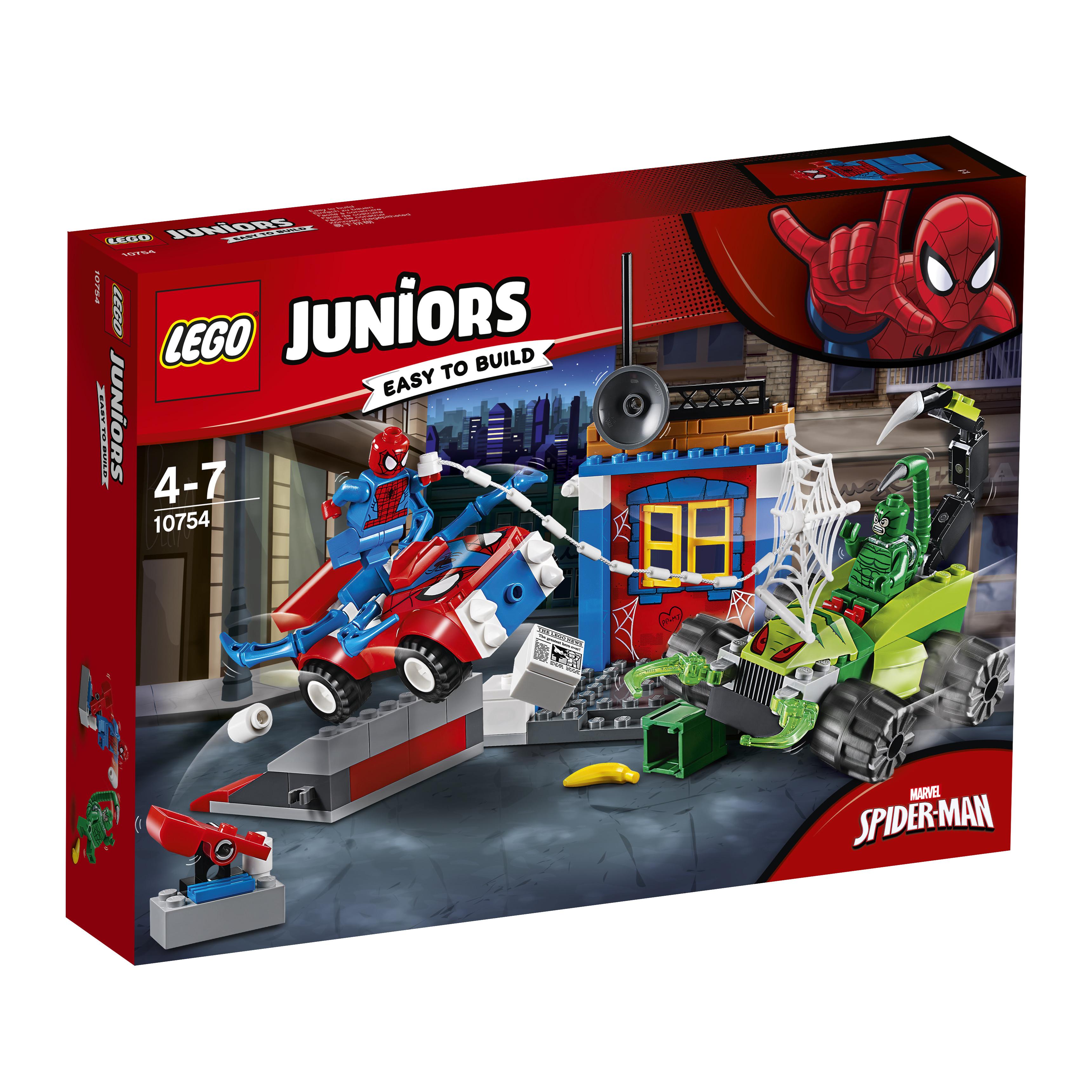 LEGO LEGO Juniors 10754 Решающий бой Человека-паука против Скорпиона убить скорпиона книга переживаний
