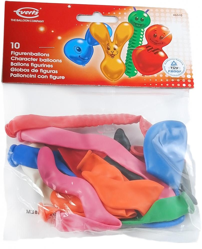Воздушные шары Everts 10 фигурных шариков