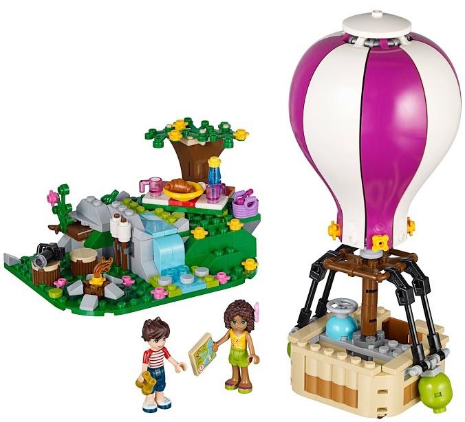 Купить LEGO, Friends 41097 Воздушный шар, Китай, Мультиколор, Женский