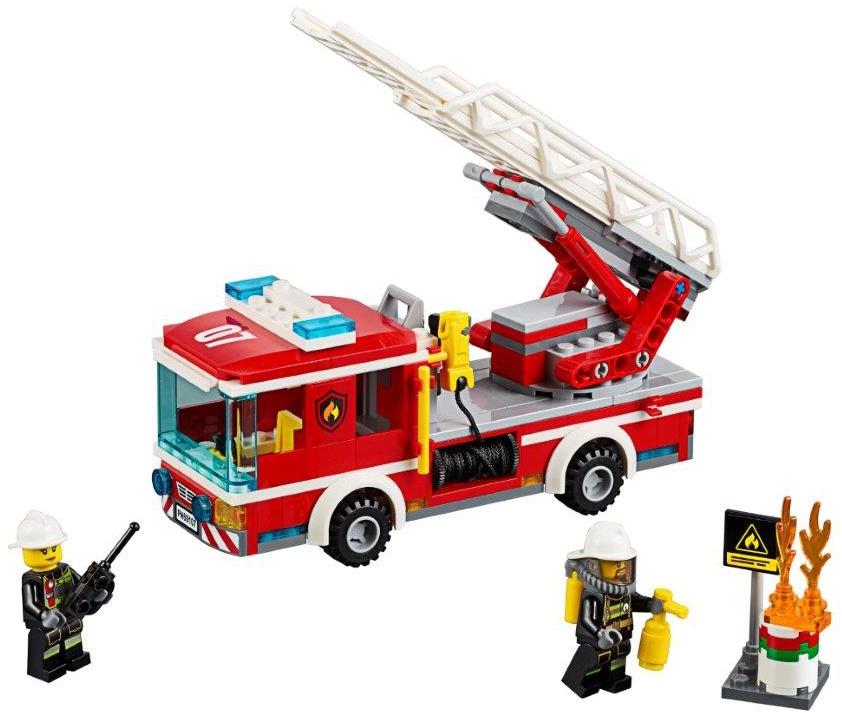 Купить LEGO, City Пожарная машина с лестницей (60107), Чехия, Мультиколор, Мужской