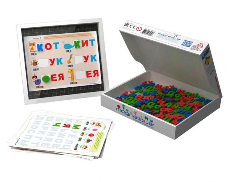 Развивающие игрушки Magneticus Мягкая магнитная азбука Magneticus «Буквы и звуки»