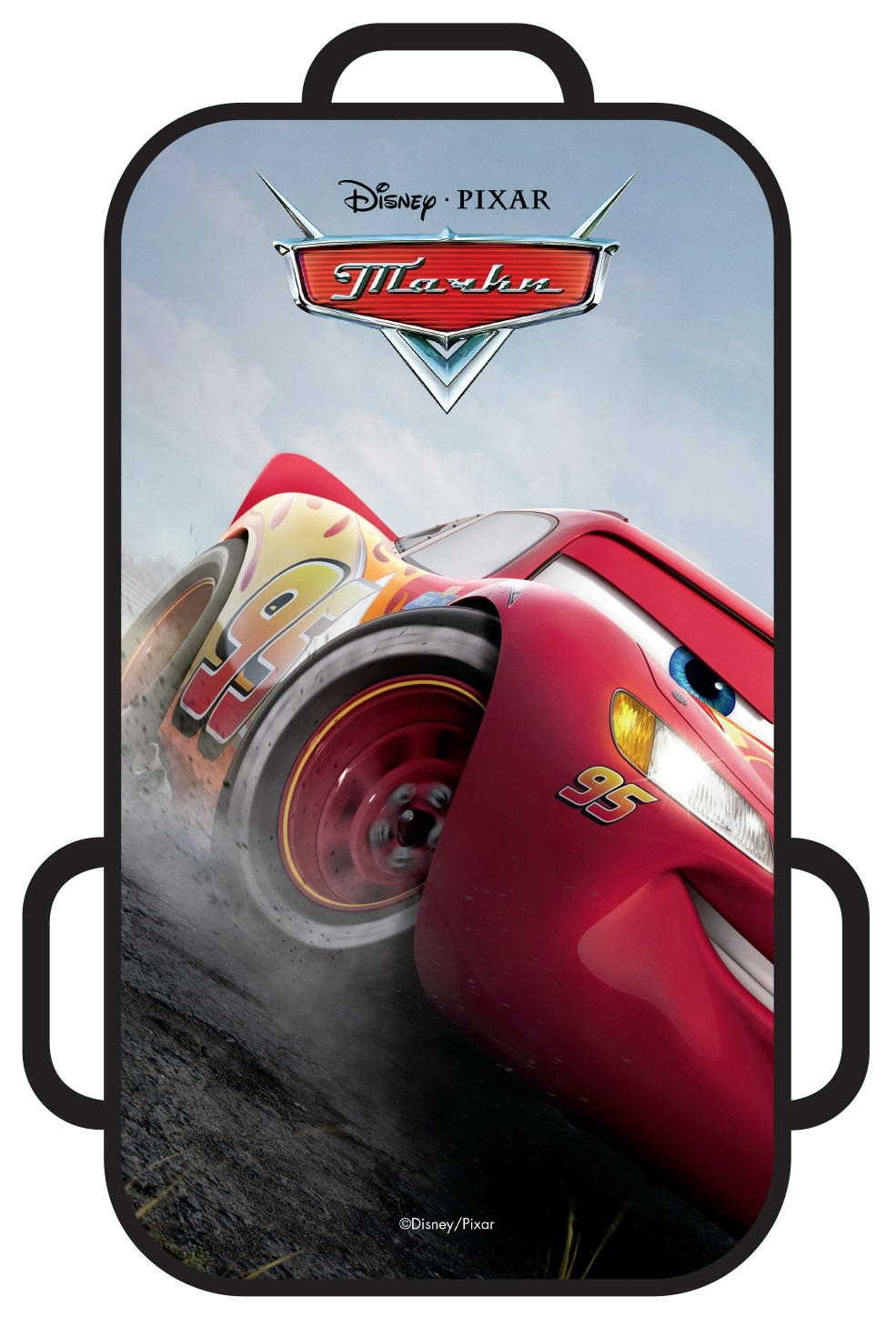 Ледянки Disney Ледянка Disney «Тачки» прямоугольная 72х41 см fully enclosed trunk mat for mitsubishi outlander xl pajero sport lancer car accessories car mats