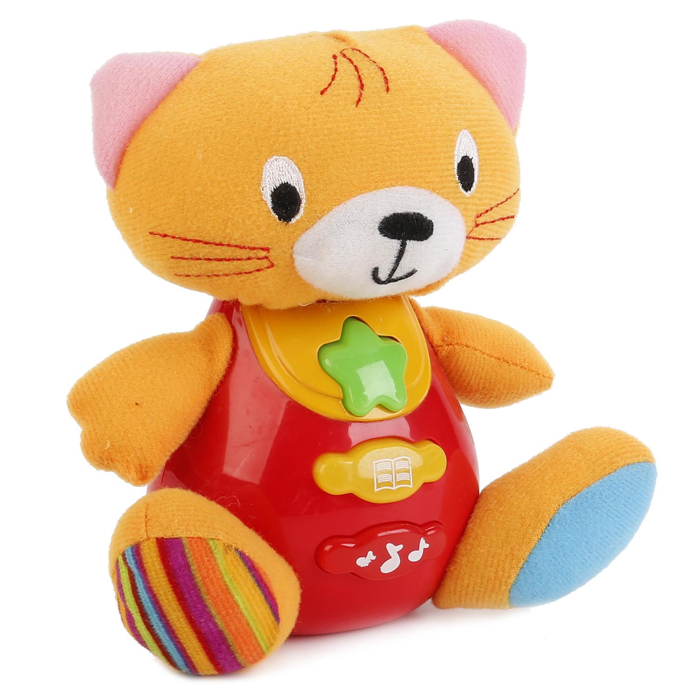 Развивающие игрушки Умка Развивающая игрушка Умка «Котик» развивающая игрушка умка пожарная машинка со стихами м дружининой