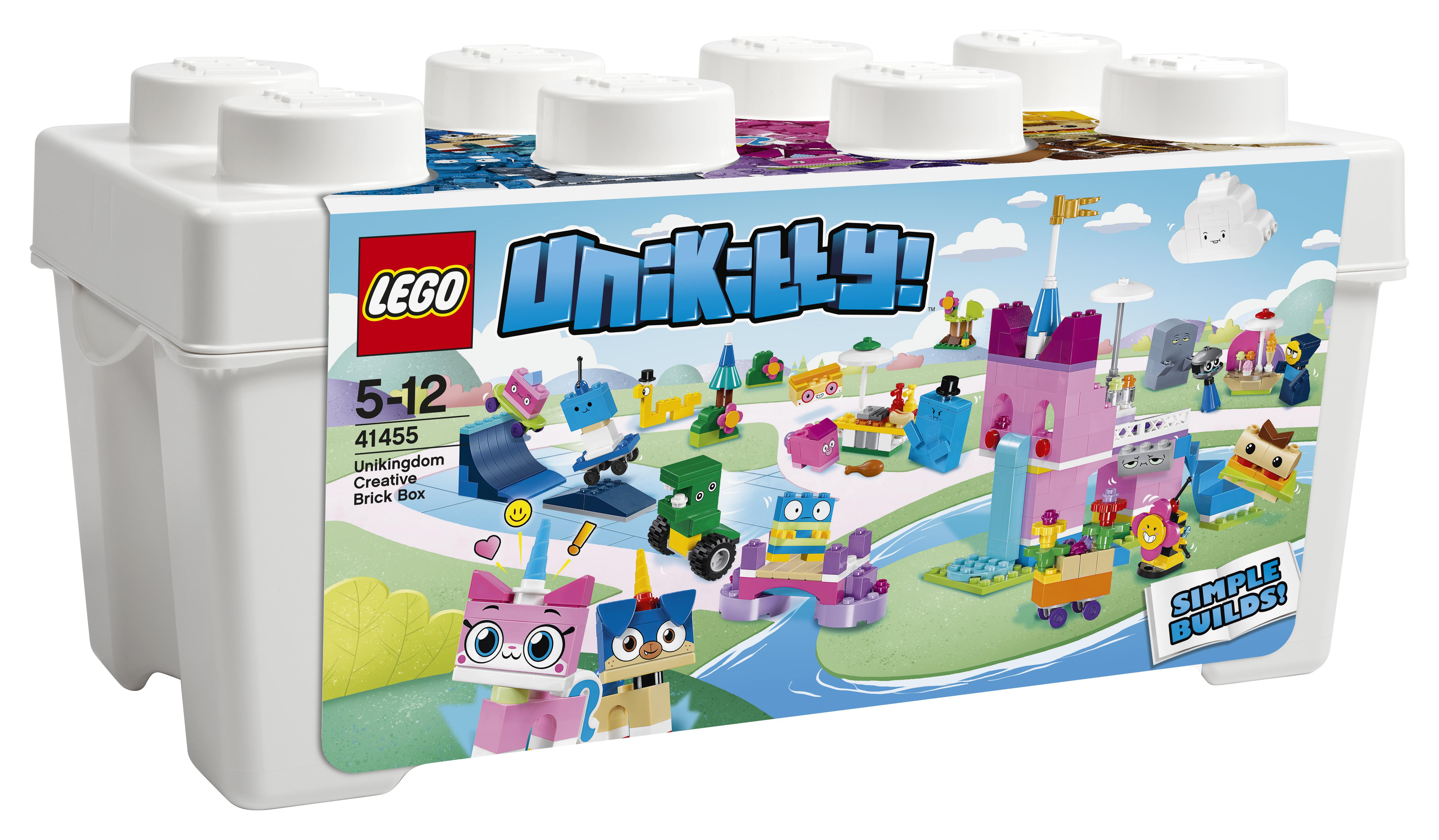 LEGO LEGO Unikitty 41455 Коробка кубиков для творческого конструирования Королевство конструктор lego дупло набор деталей для творческого конструирования