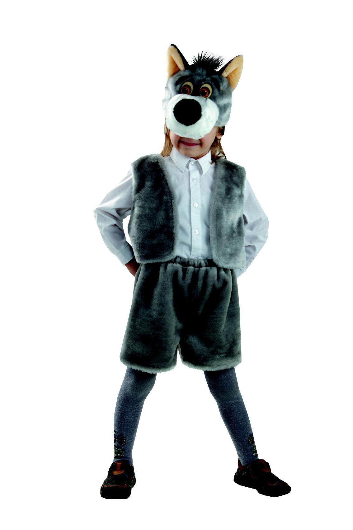 Костюмы и маски Батик Волк волшебный мир волк карнавальный костюм