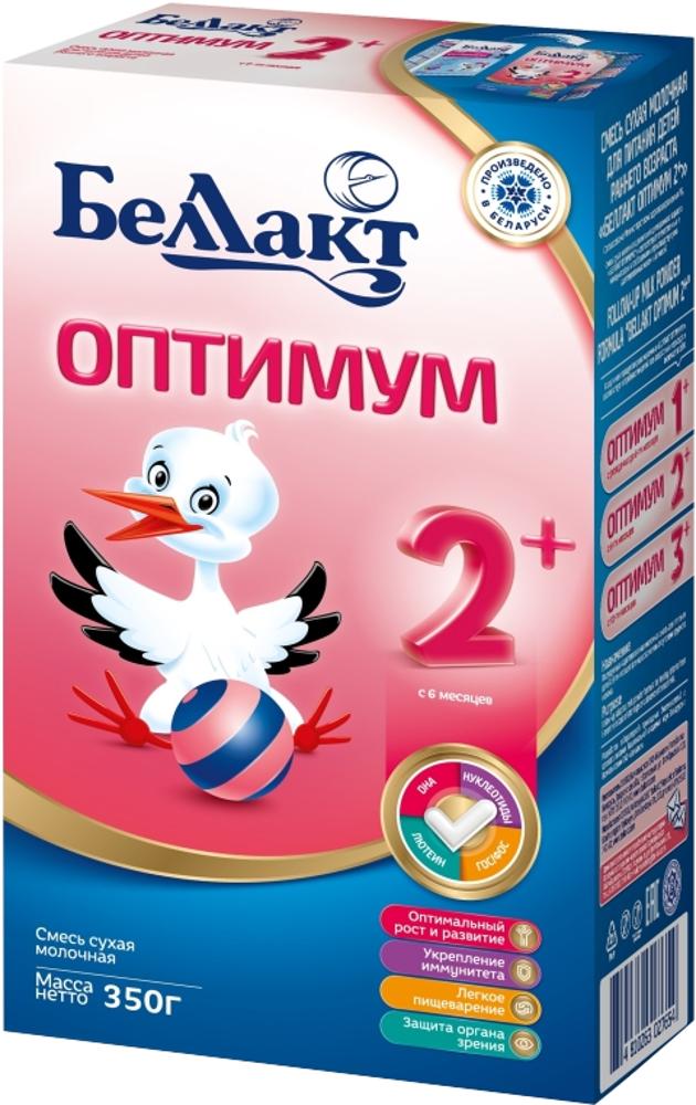 Сухие Беллакт Молочная смесь Беллакт-2 Оптимум с 6 мес. 350 г беллакт оптимум 2 молочная смесь для питания с 6 мес 350 г