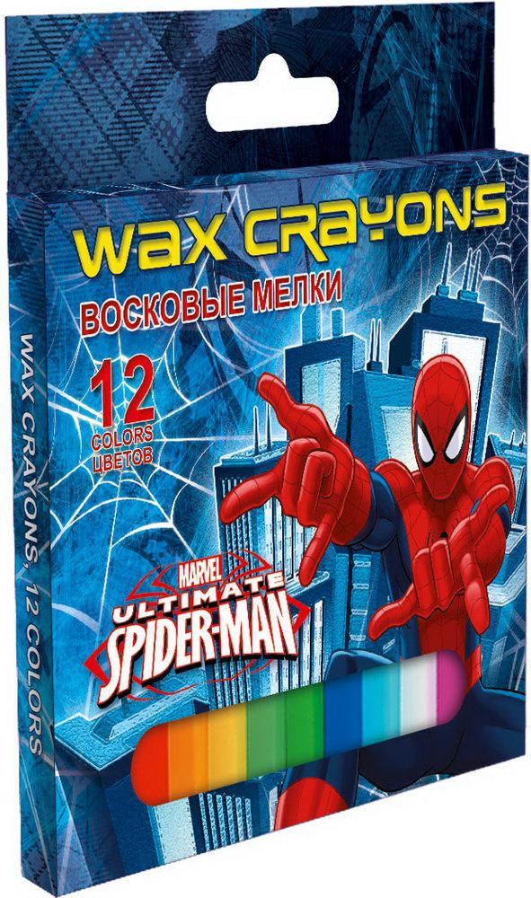 Ручки и карандаши Spider-man Spider-man 12 цветов карандаши восковые мелки пастель berlingo карандаши замки 18 цветов