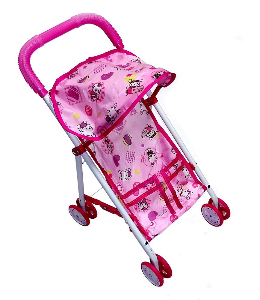 Купить Коляска для куклы, Прогулочная, 1шт., UF SPT68135, Китай, pink, Женский