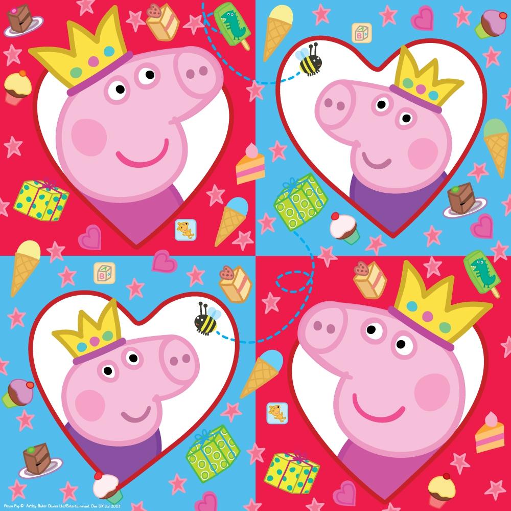 Салфетки Peppa Pig Peppa Pig 20 шт. сандалии peppa pig сандалии