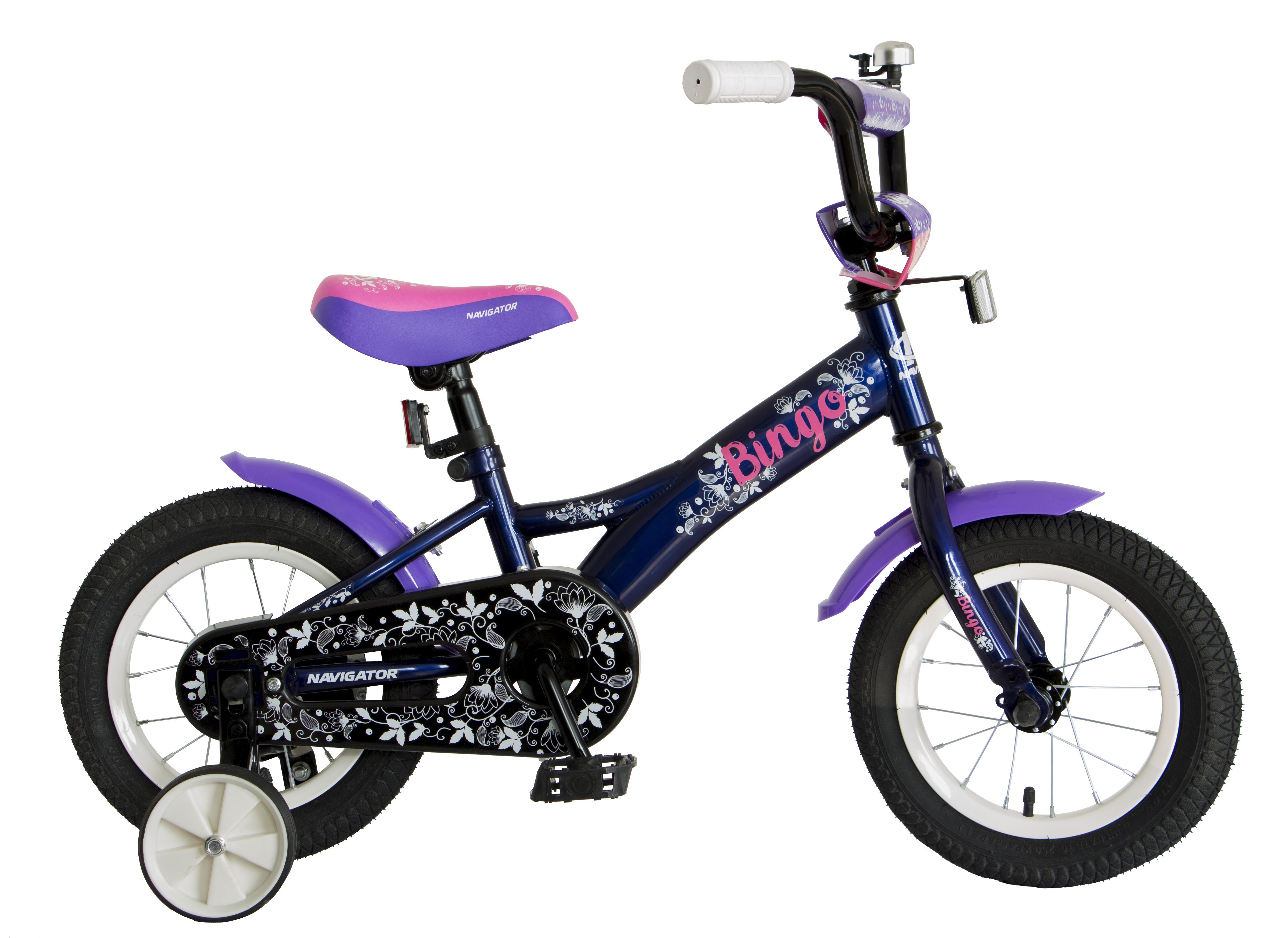 Велосипед двухколесный Navigator Bingo синий