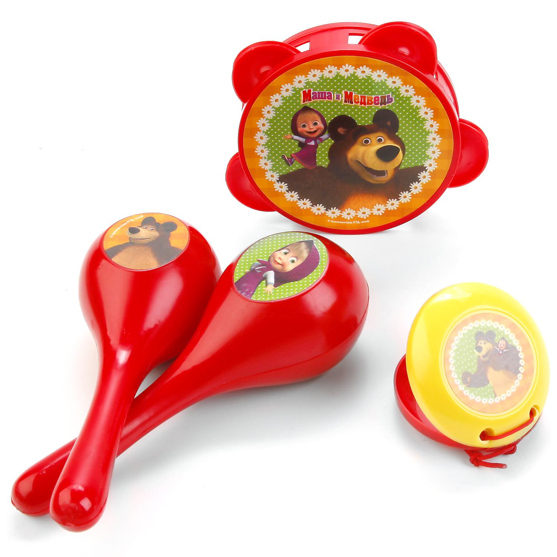 Музыкальные инструменты Играем вместе Маша и медведь папка для тетрадей а5 на молнии маша и медведь маша и медведь