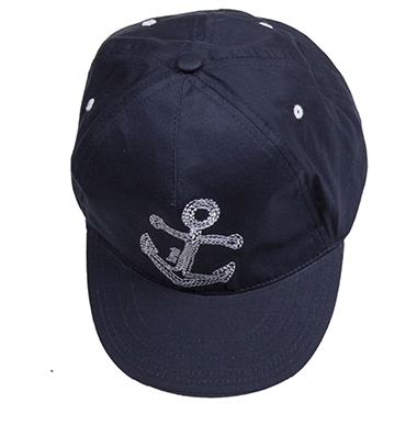 Кепка BARQUITO Моряк для мальчика синий головные уборы barquito кепка для девочки спорт barquito синяя