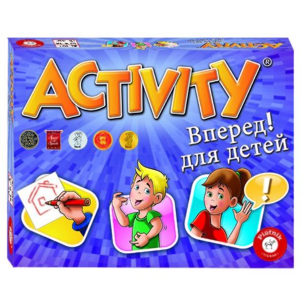 Настольная игра PIATNIK Activity Вперед 793394 piatnik настольная игра activity вперед детская версия piatnik