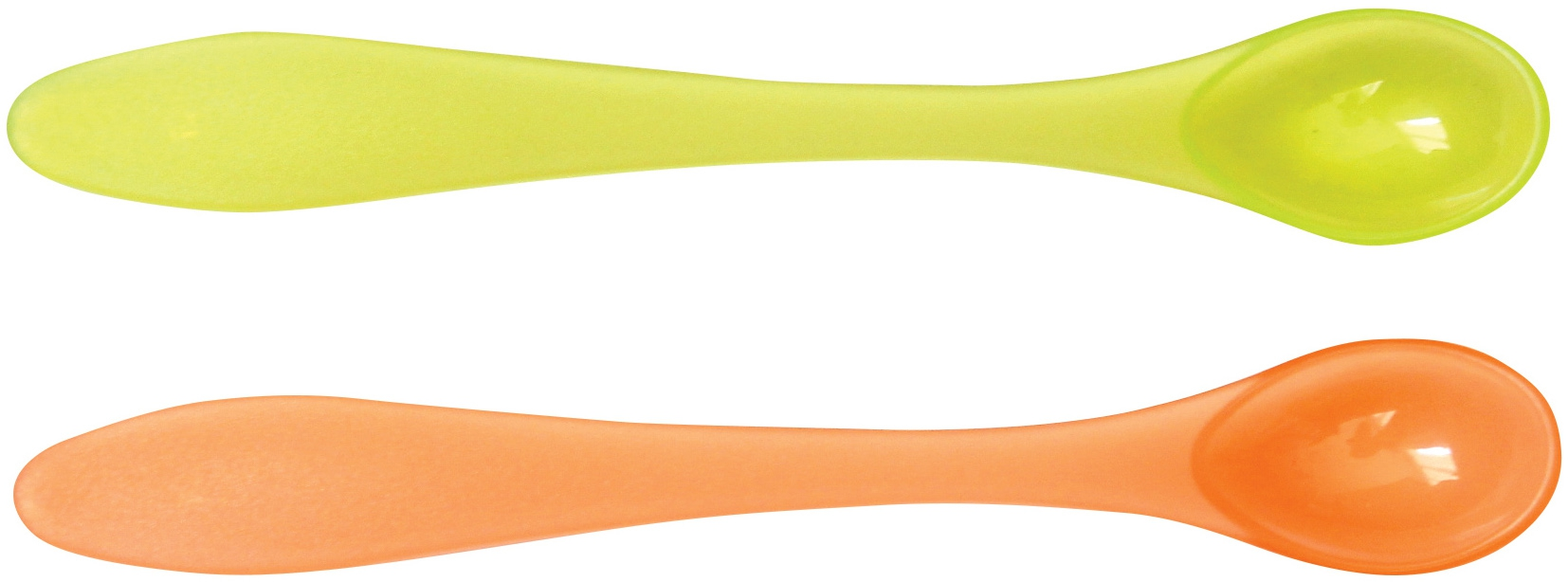 Столовые приборы LUBBY Ложка Lubby «Just LUBBY» с длинной ручкой с 6 мес. 2 шт. ложка happy baby soft silicone spoon с силиконовой ручкой с 6 мес в ассортименте