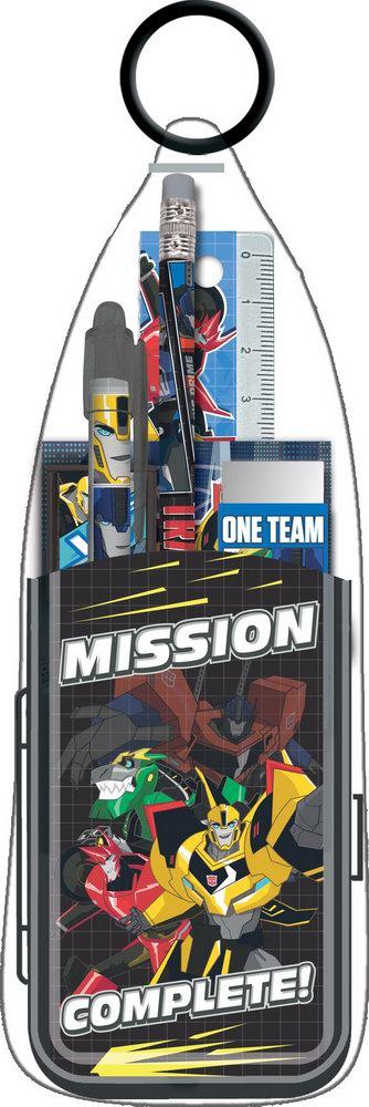 Пеналы и наборы Transformers Набор канцелярский Transformers 7 пр. набор канцелярский disney cars 7 пр