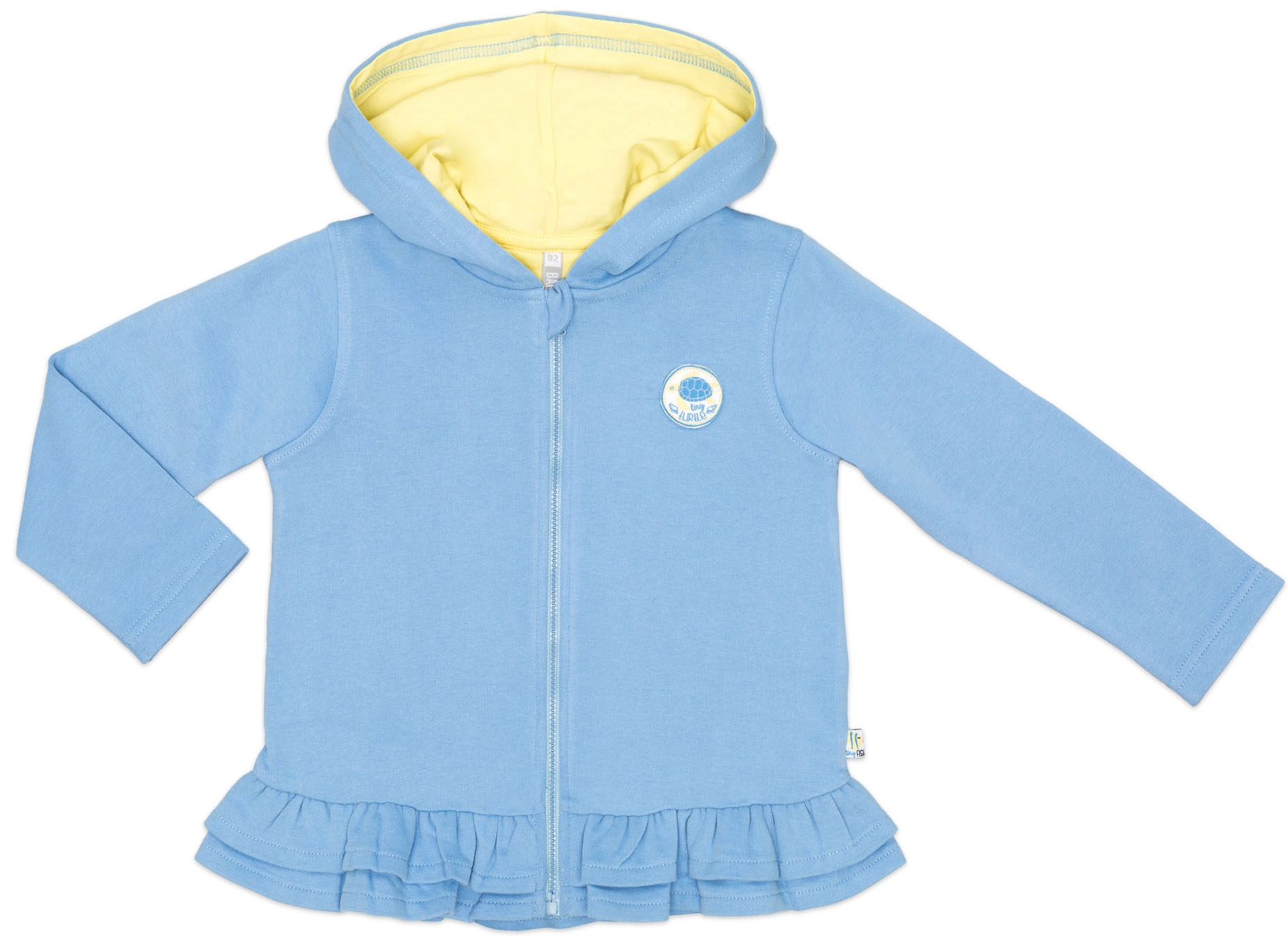 Жакет на молнии для девочки Barkito У синего-синего моря 909006 X507 75 юбка для девочки barkito 723521 x418 75