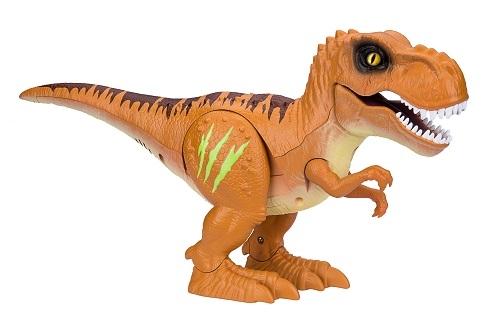 Интерактивная игрушка 1toy Атакующий тиранозавр Т13694 интерактивная игрушка 1toy плюшевый микрофон bobbie