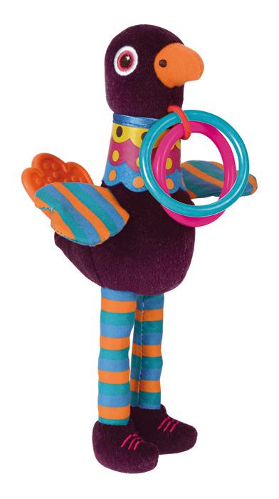 Обучающие Oops Развивающая игрушка Oops «Павлин/Ежик» в ассортименте игрушка