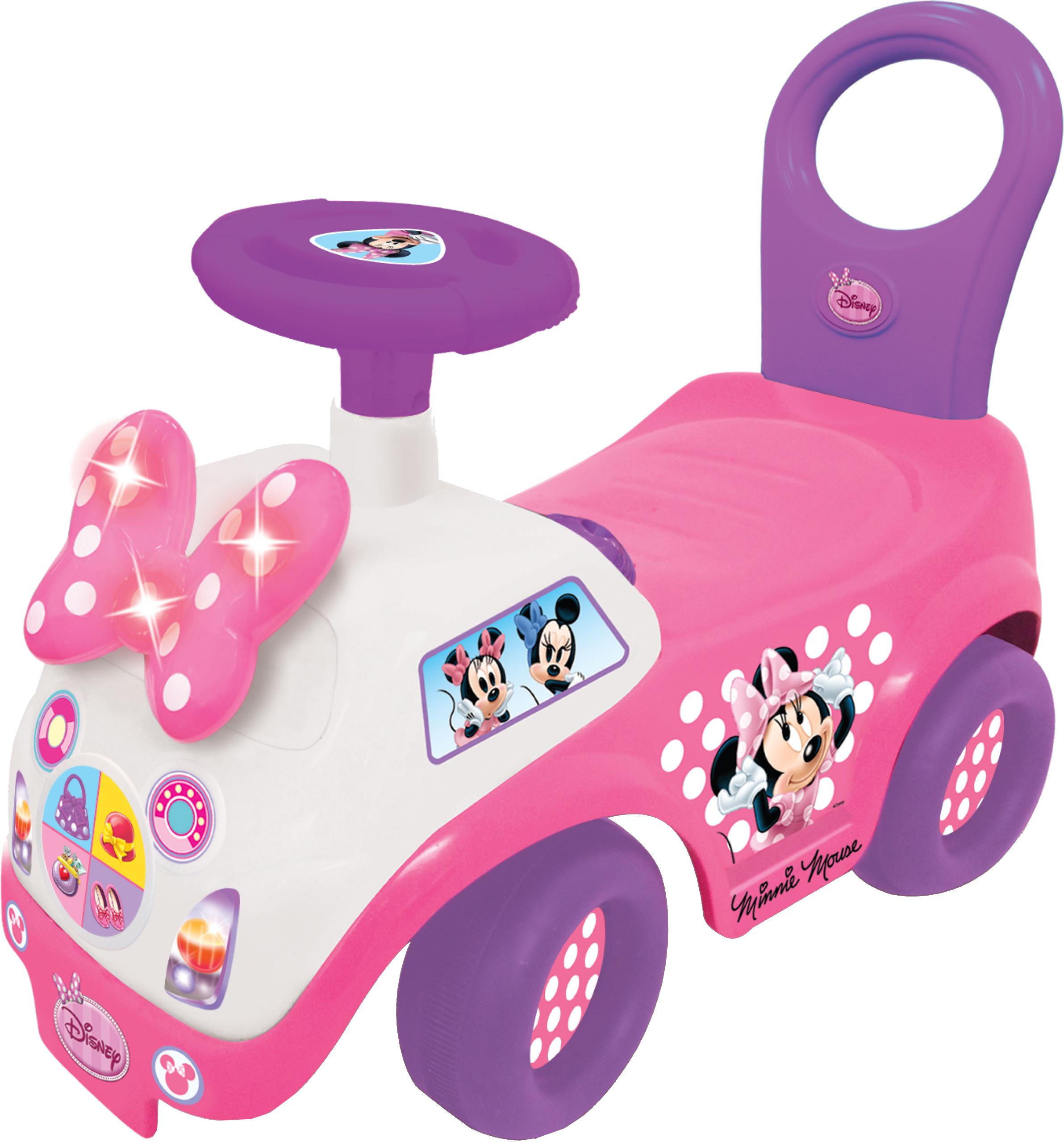 Каталка-пушкар KIDDIELAND Минни Mayc kiddieland развивающая игрушка пианино с животными минни маус и друзья kiddieland