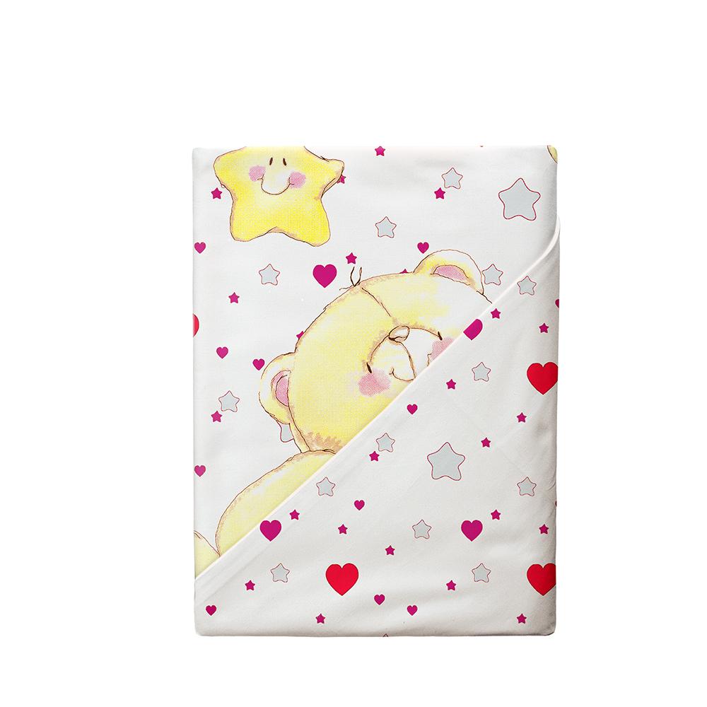 Постельные принадлежности Облачко «Влюбленный медвежонок» 3 предмета детский комплект постельного белья облачко влюбленный медвежонок