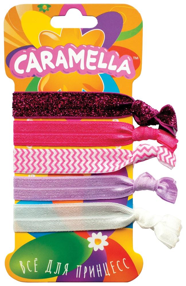 Украшения CARAMELLA Резинка-браслет Caramella с розовым принтом 5 шт.