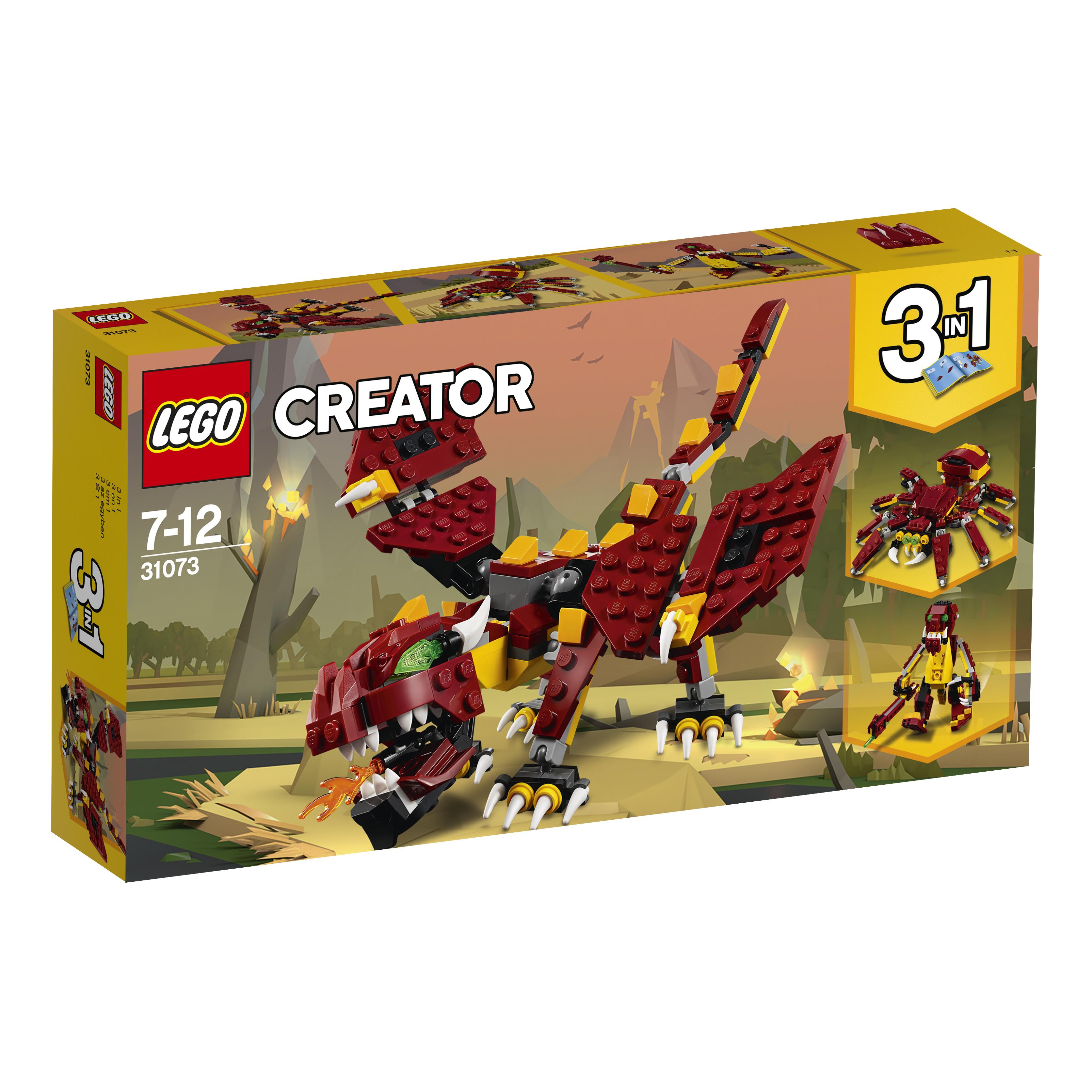 LEGO LEGO Конструктор LEGO Creator 31073 Мифические существа lego creator морская экспедиция 31045