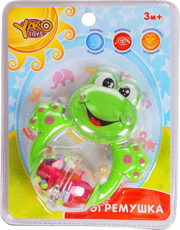 Погремушка YAKO Лягушка игрушка yako m6226