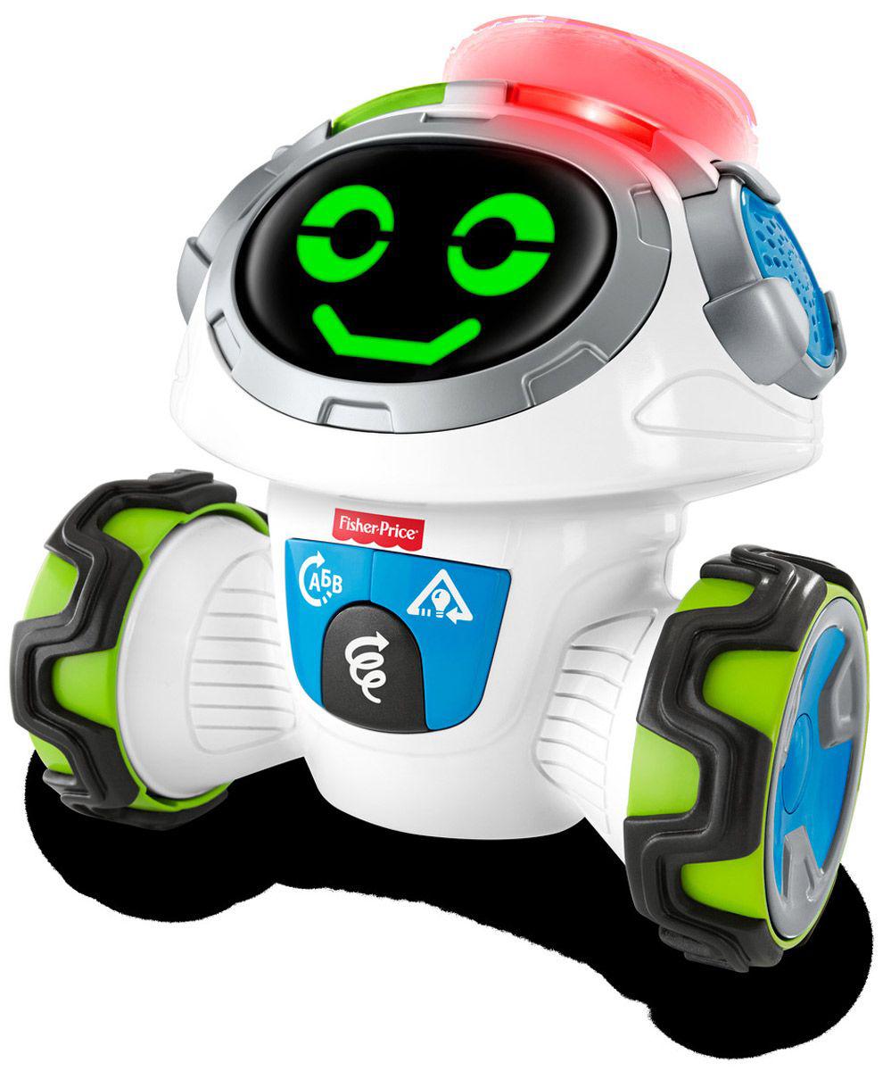 Развивающие игрушки Fisher Price Интерактивный Робот Fisher Price «Мови» интерактивный поезд перси fisher price