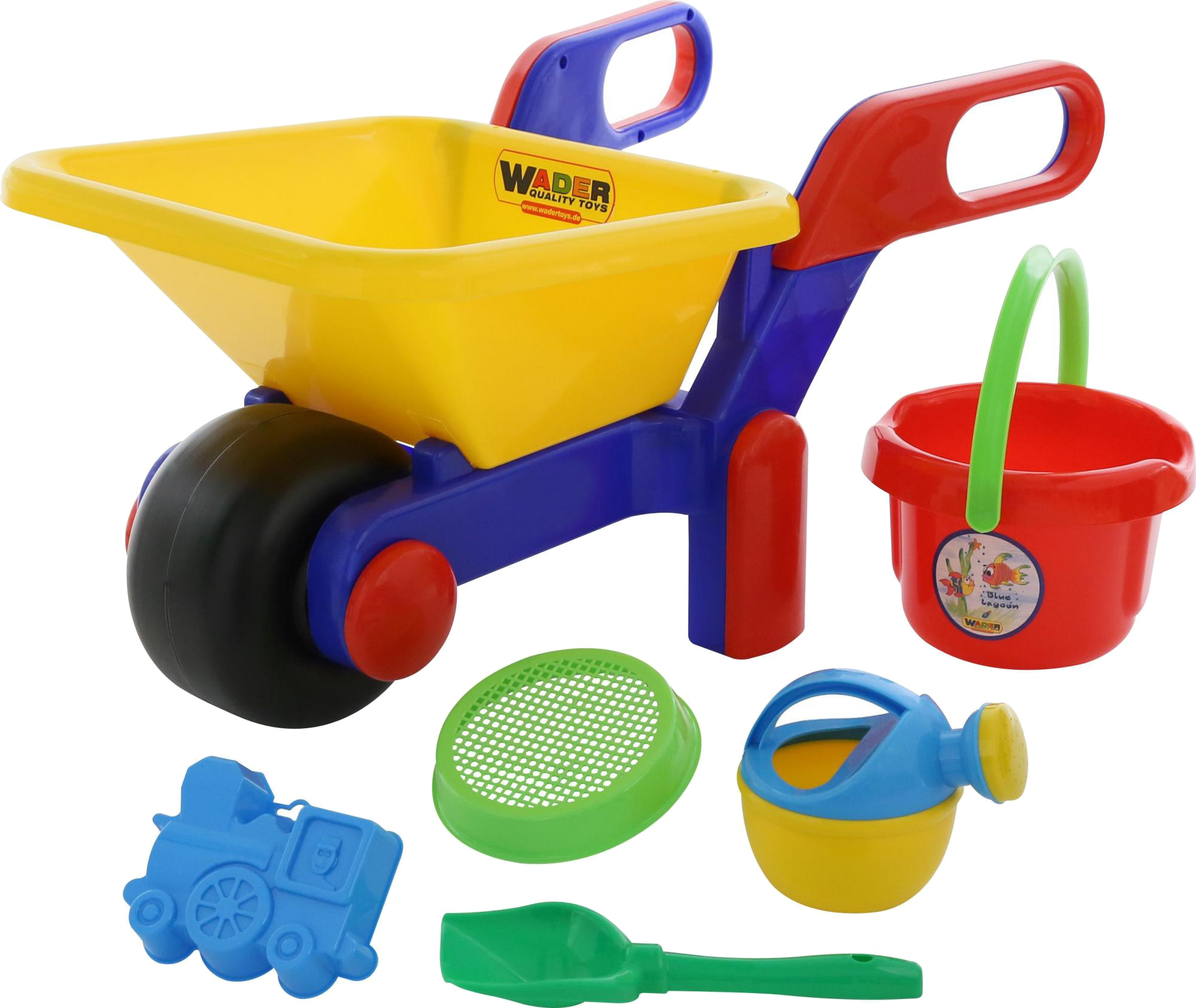Игрушки для песка Полесье №455 с тачкой Полесье игрушки для песка полесье 455 с тачкой полесье