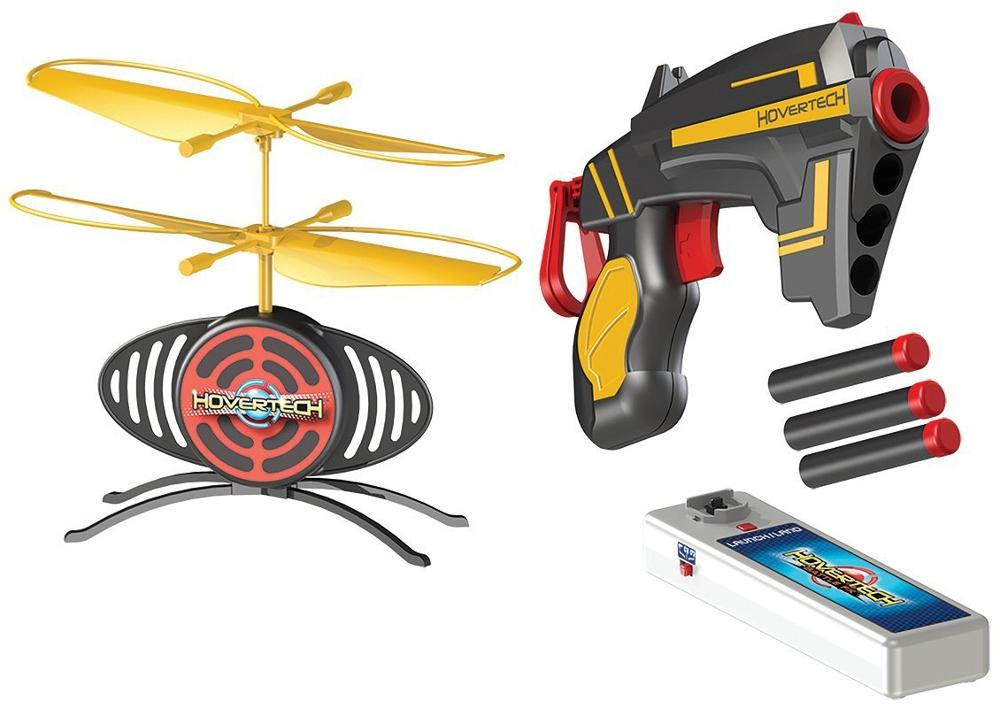 Оружие детское HOVERTECH Бластер HoverTech Target FX с мишенью-дроном игрушка летающая мишень hovertech targetfx hovertech
