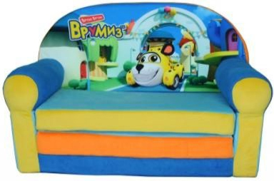 Мягкая мебель СмолТойс Врумиз машинки врумиз игрушка врумиз набор инерционных машинок спиди софи слон пожарный