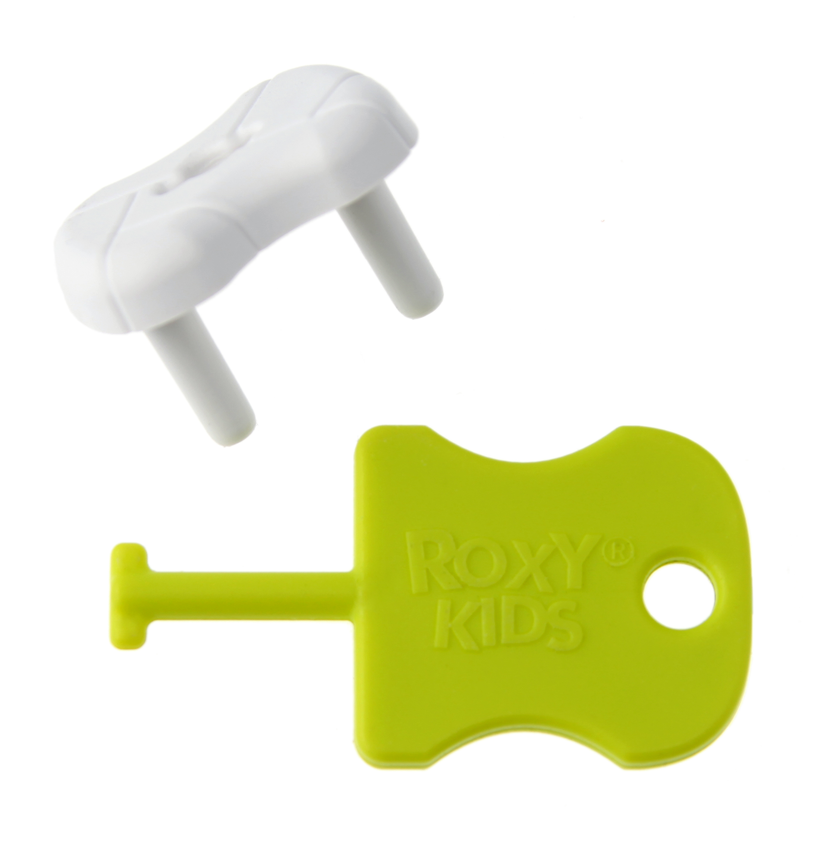Заглушки для розеток Roxy-kids 8 штук белые