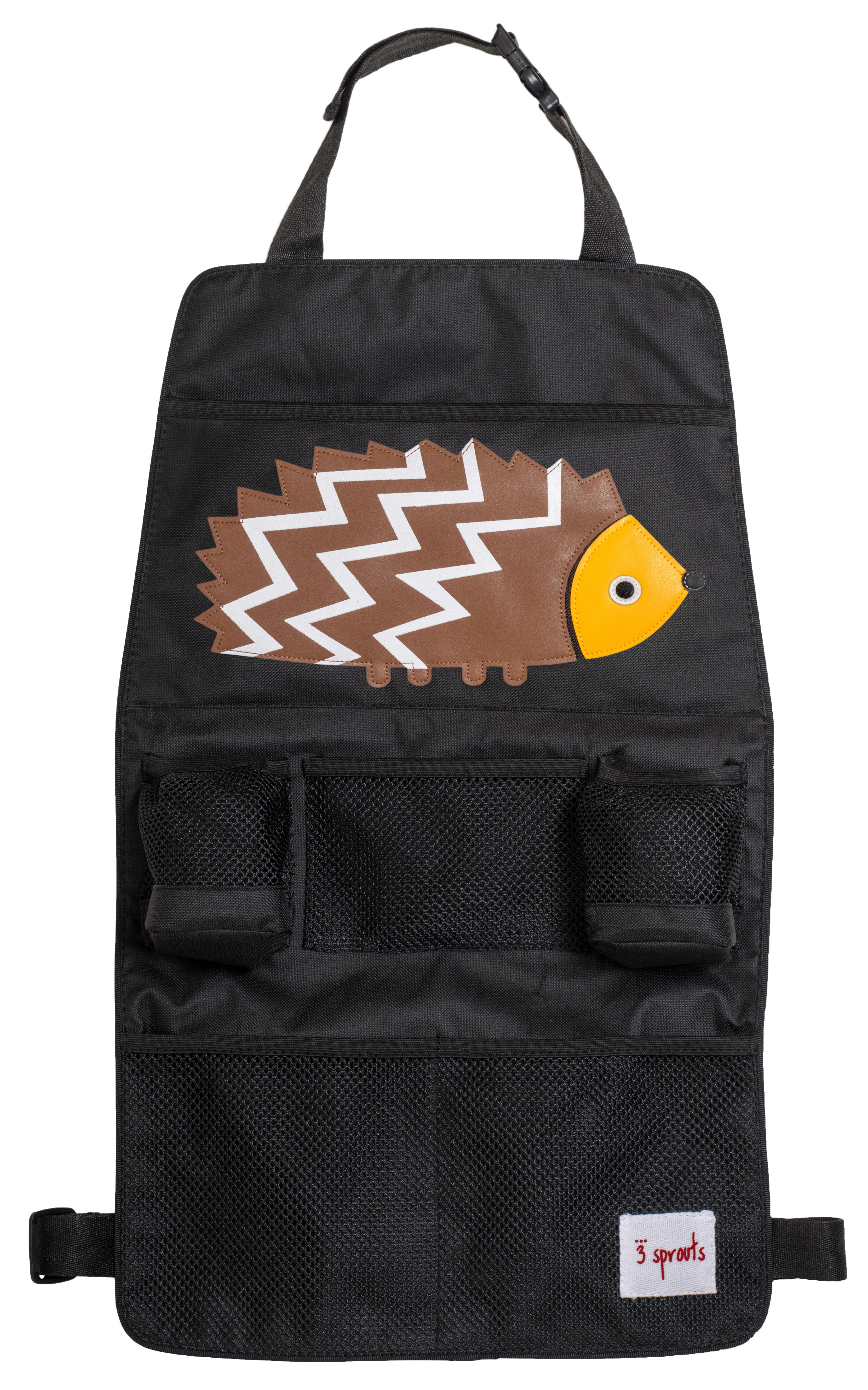 Купить Путешествие с ребенком, Brown Hedgehog, 3 Sprouts, Китай, черный с коричневым