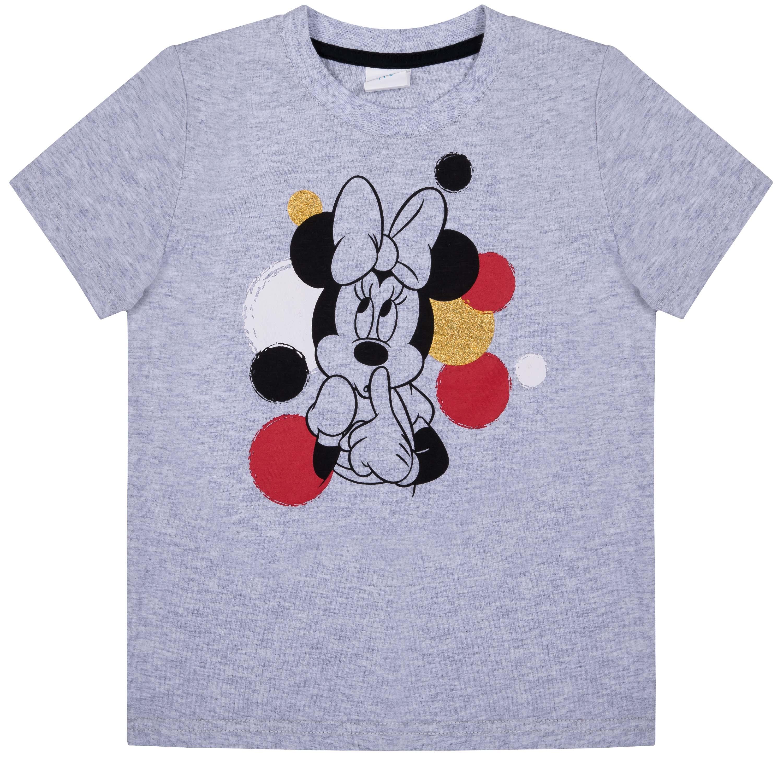 Футболка с коротким рукавом для девочки Barkito Minnie Mouse, цвет серый меланж нелли гореславская татьяна доронина еще раз про любовь…