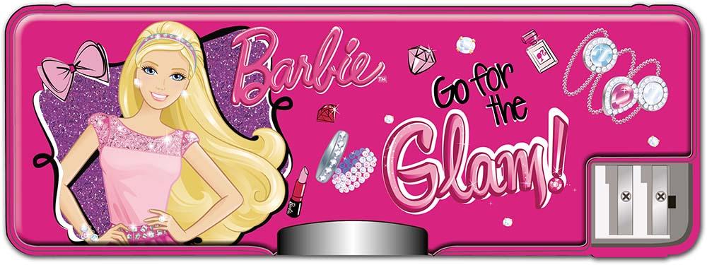 Пенал Barbie Школьный с точилками