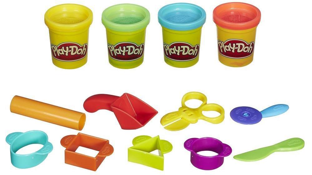 Набор пластилина Hasbro Базовый набор пластилина Play-Doh стоимость