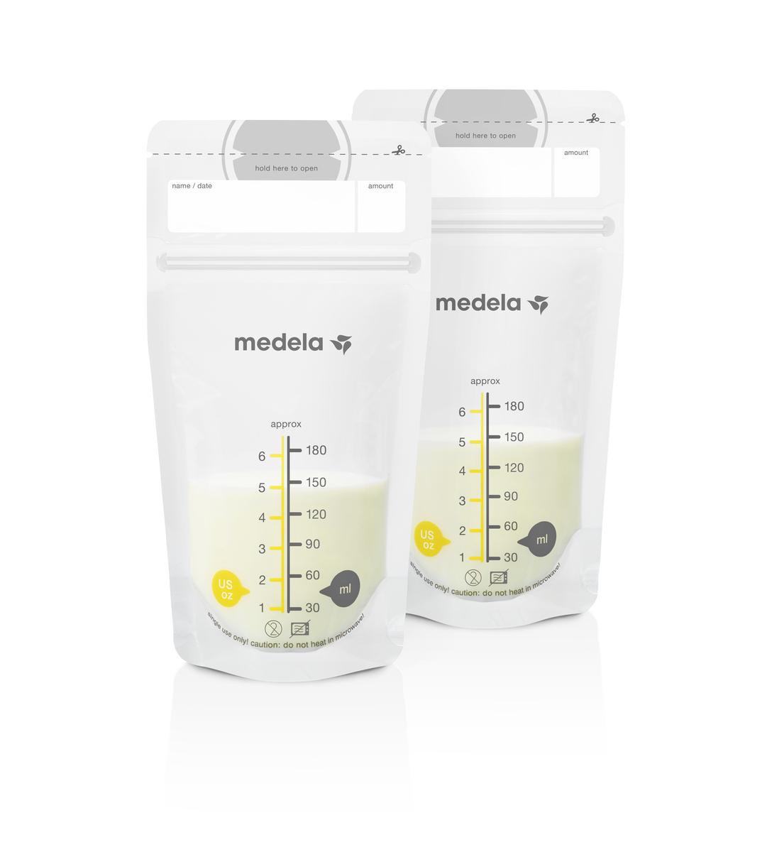 Контейнеры Medela Набор одноразовых пакетов Medela для хранения грудного молока 50 шт. кофр для хранения bradex набор вакуумных пакетов для хранения с насосом спэйс мастер bradex