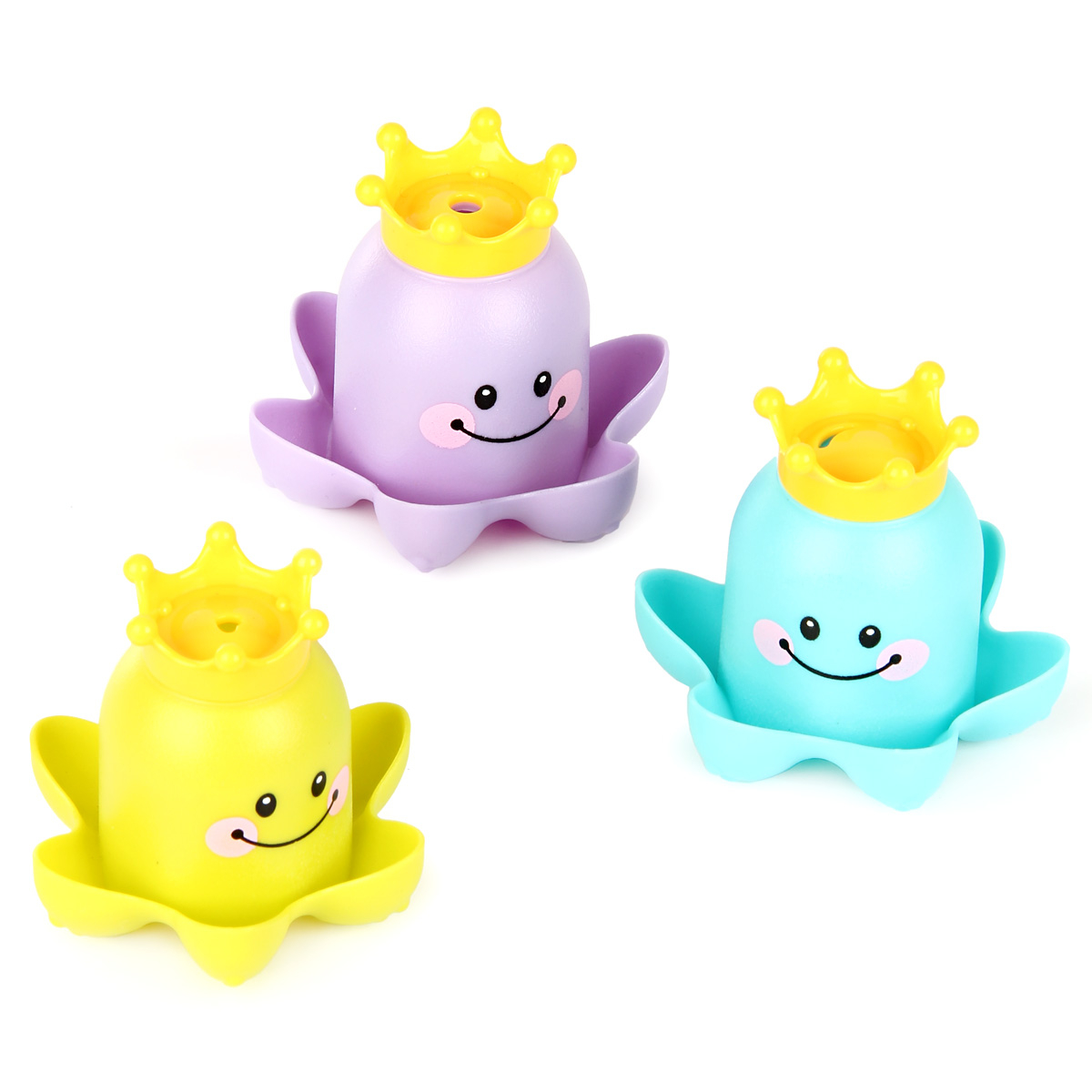 Игрушки для ванной Ути Пути Морские обитатели ути пути набор погремушек гремелки звенелки цвет красный желтый 2 шт