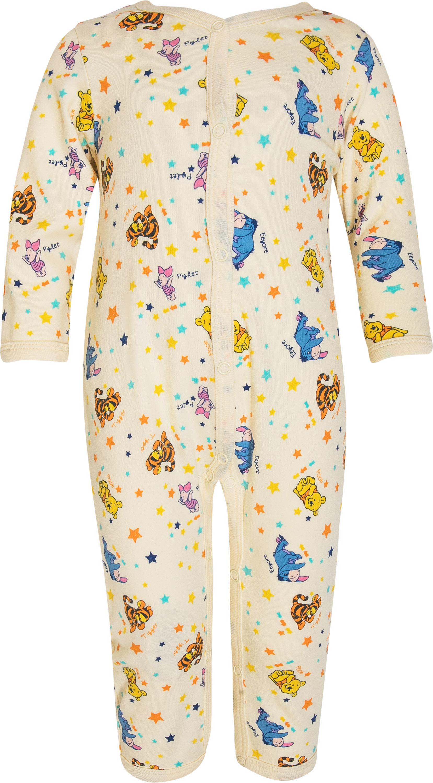 Купить Первые вещи новорожденного, Комбинезон детский Winnie The Pooh, белый с рисунком, Barkito, Китай, Новорожденный