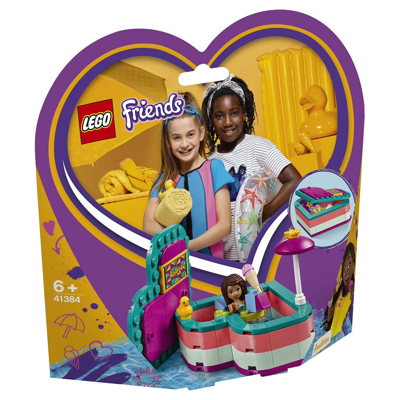 Конструктор LEGO Friends 41384 Летняя шкатулка-сердечко для Андреа lego friends 41354 шкатулка сердечко андреа конструктор